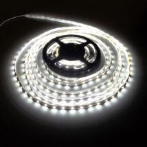LED szalag, 3528, 60 SMD/m, nem vízálló, hideg fehér AKCIÓ!!!
