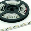 LED szalag, 3528, 120 SMD/m, nem vízálló, meleg fehér