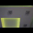 Különleges álmennyezet sziget NÉGYZET (120x120cm) Komplett, RGB + spot keret világítással !!!