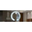 Egyszínű szalag vezérlő dimmer, falra szerelhető, elemes
