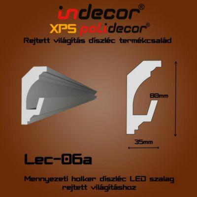 Lec-06A Mennyezeti rejtett világítás díszléc