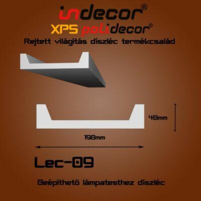 Lec-09 Beépíthető lámpatesthez díszléc