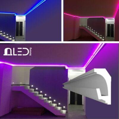 Komplett díszléc szett RGB led világítással (színváltós) !!!