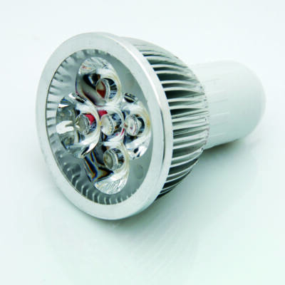 LED spot, MR16, 4*1W, 220V, meleg fehér fény  AKCI