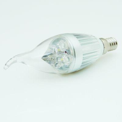 LED égő, E14, 4W, 230V, meleg fehér fény - RENDKÍV
