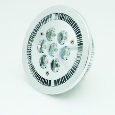 LED spot, AR111, 7W, 230V, meleg fehér fény