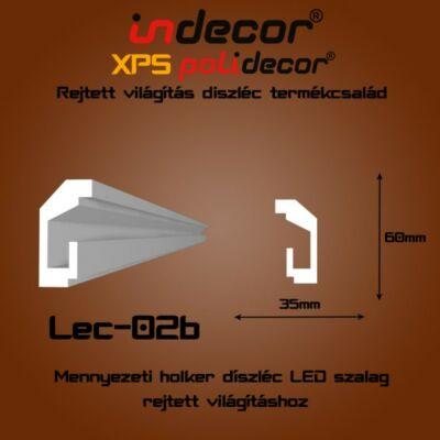 Lec-02B Mennyezeti rejtett világítás díszléc