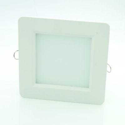 LED panel (modul), 12W, beépíthető, négyszögletes, meleg fehér