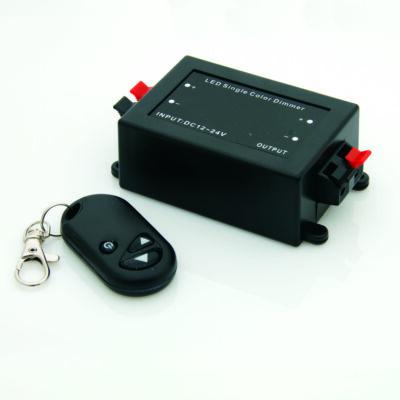 Dimmer LED szalagokhoz 96W, 8A, távirányítóval