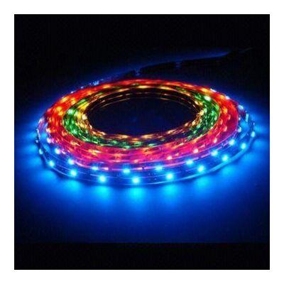 LED szalag, 5050, 30 SMD/m, nem vízálló, RGB -  RE