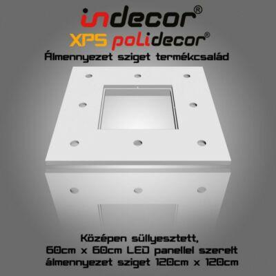 N-120-LP négyzet süllyesztett álmennyezet, LED panel világításnak