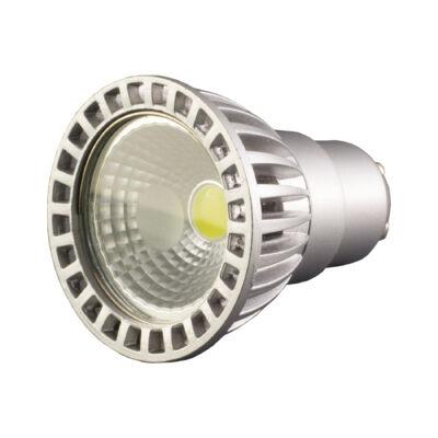 LED spot 50°, GU10, 4W, 230V, COB, hideg fehér