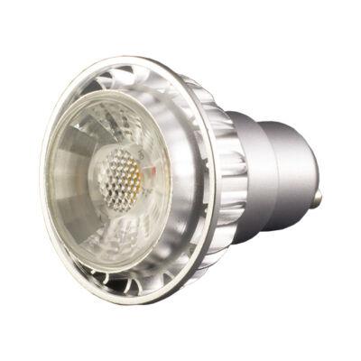 LED spot 50°, GU10, 7W, 230V, COB, hideg fehér