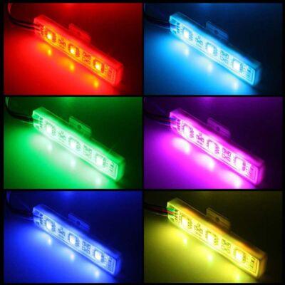 Led modul 0,72W - 3x5050 SMD Led - RGB vízálló