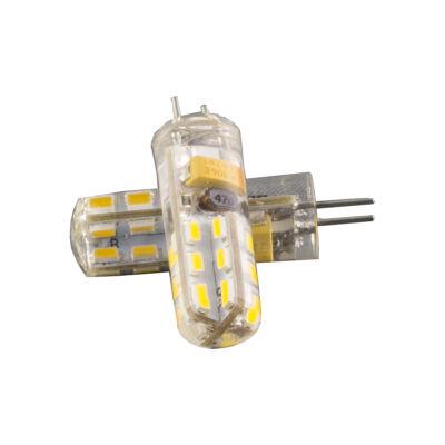 LED égő, G4, 2W, 12V, 320° meleg fehér fény