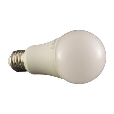 LED égő, E27,A60, 10W, 230V, 270° meleg fehér