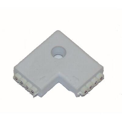 RGB LED szalaghoz  L csatlakozó