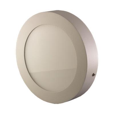 LED Lámpa falon kívüli, 18W, kerek, meleg fehér