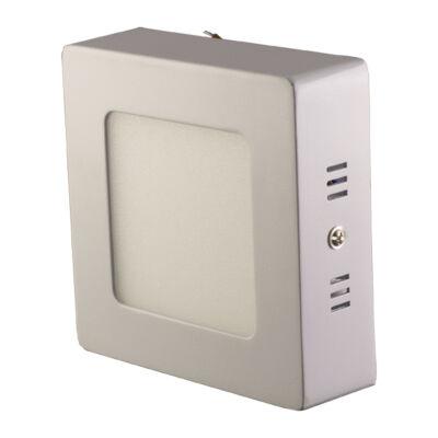 LED Lámpa falon kívüli, 7W, négyszögletes, meleg fehér
