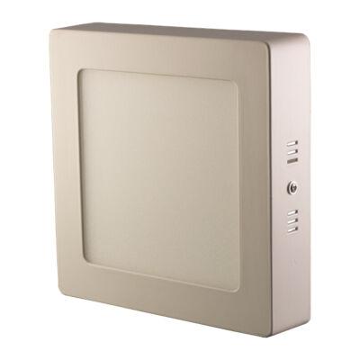 LED Lámpa falon kívüli, 18W, négyszögletes, hideg fehér