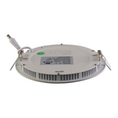 LED panel (modul), 6W, beépíthető, kerek, hideg fehér