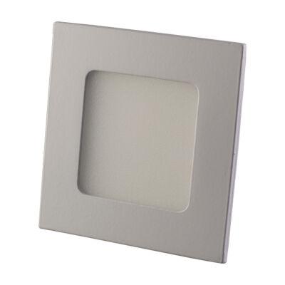 LED panel (modul), 3W, beépíthető, négyszögletes, meleg fehér