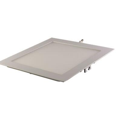 LED panel (modul), 25W, beépíthető, négyszögletes, meleg fehér