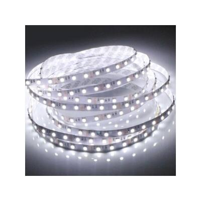 LED szalag, 3528, 60 SMD/m, nem vízálló, semleges fehér