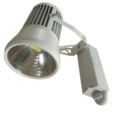 LED reflektor 20W, COB, fehér lámpatest, beltéri,