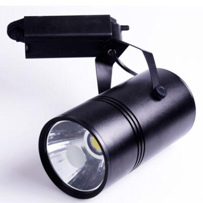 LED reflektor 10W, COB, fekete lámpatest, beltéri,