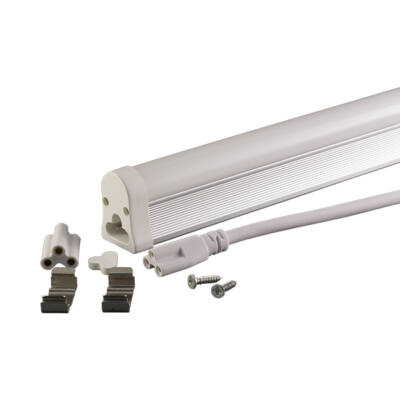 Led fénycső, T5, 57cm, 8W, 230V matt üveg meleg fehér