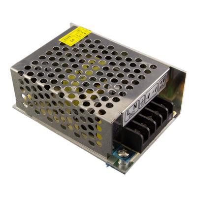 Tápegység LED szalagokhoz 24W, 2A, 12V, fém ház