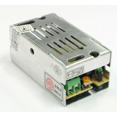 Tápegység LED szalagokhoz 15W, 12V, fém ház