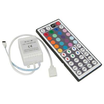 Távirányító LED RGB szalaghoz 144W, 44 nyomógomb