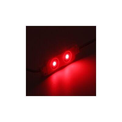 Led modul 0,5W - 2x5050 SMD Led - Piros