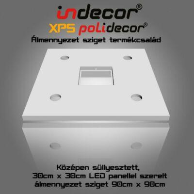 N-90-LP négyzet álmennyezet sziget LED panel világításnak