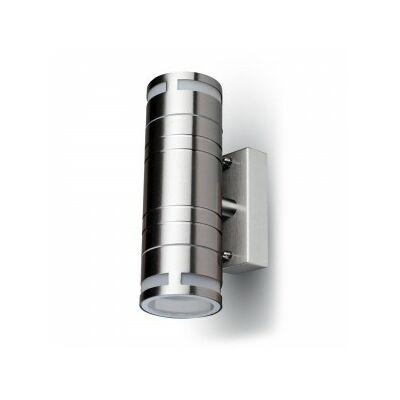 Króm oldalfali lámpa IP44 (2xGU10) - 2 irányú