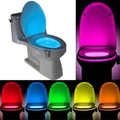 Ledes wc világítás RGB mozgásérzékelővel