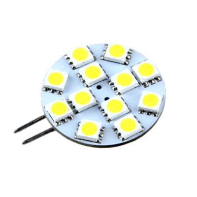 LED égő, G4, 1.8W, 12V, Meleg fehér