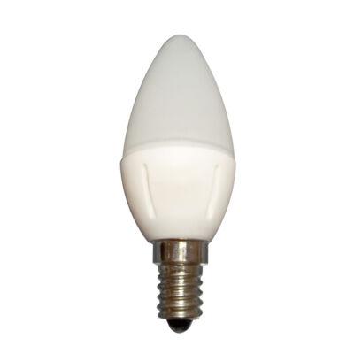 LED égő, E14, 5W, 230V, Meleg fehér