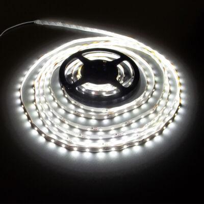 LED szalag, 3528, 60 SMD/m, nem vízálló, hideg fehér