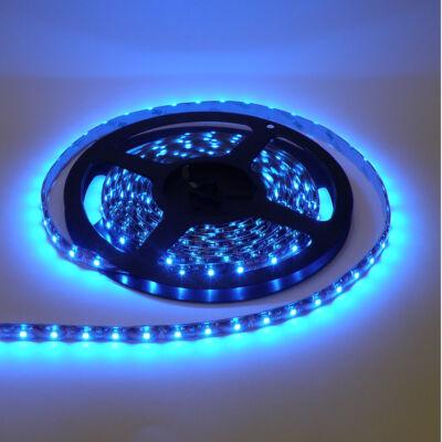 LED szalag, 3528, 60 SMD/m, nem vízálló, kék fény