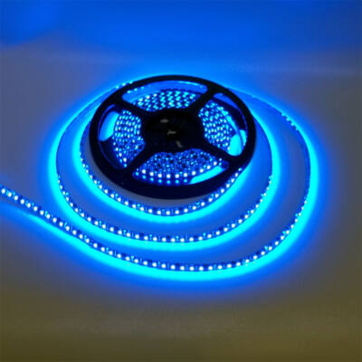 LED szalag, 5050, 60 SMD/m, vízálló, kék fény