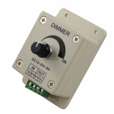 Potméteres LED dimmer 12V 8A 96W