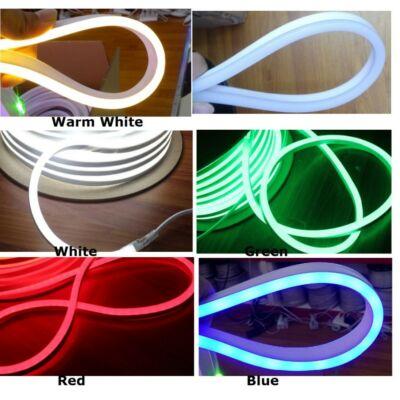 LED flexibilis csík, 80 D/m, 12*24mm, 230V, fehér