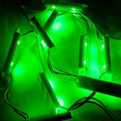Zöld LED modul