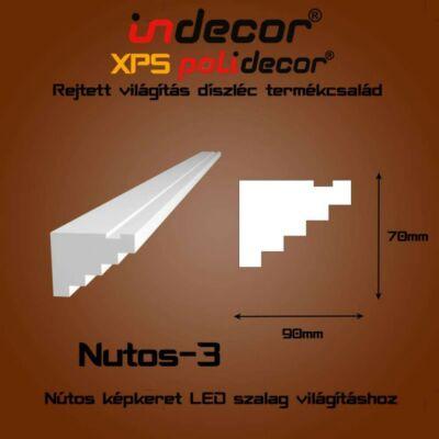 Nútos képkeret - lépcsős, Nutos-3