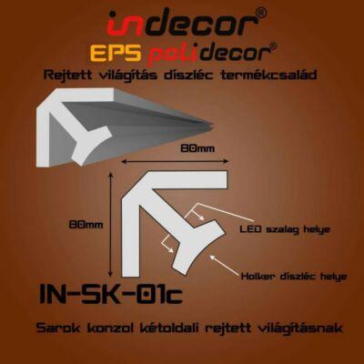 SK-01C Sarok konzol 80x80