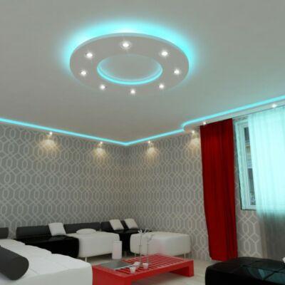 150cm kör álmennyezet sziget színváltós LED szalag világítással | K-150-RGB