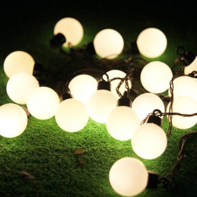 Ledes fénygömbök meleg fehér